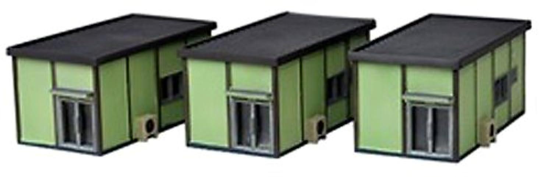 建物コレクション 建コレ 070-3 プレハブ事務所3 ジオラマ用品