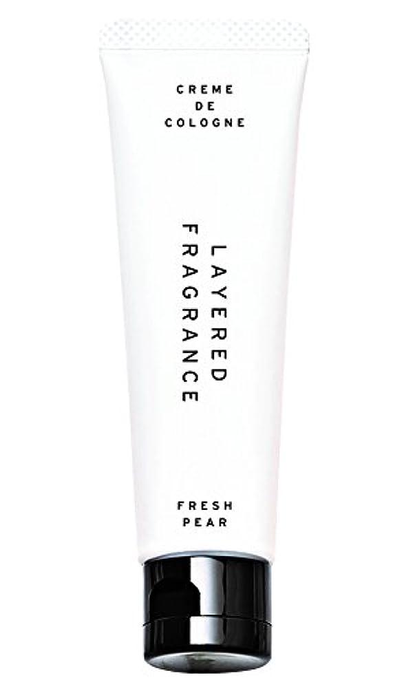 いつも鎮痛剤ヒョウレイヤードフレグランス クレムドゥコロン フレッシュペア 30g 練り香水