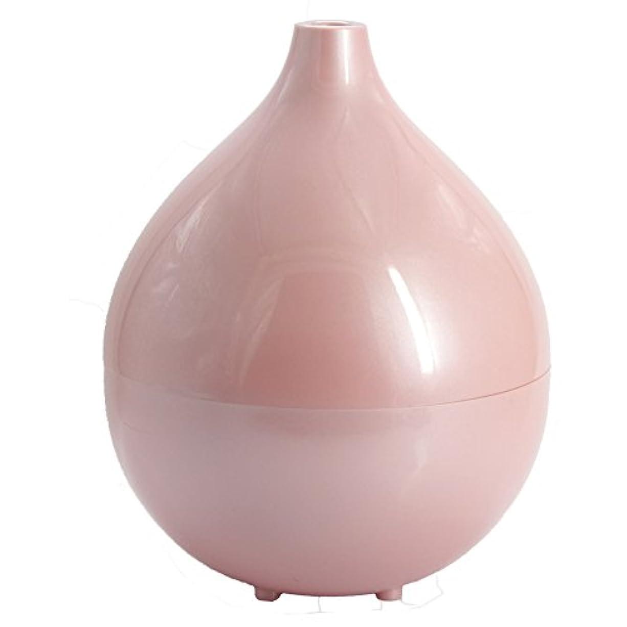 アルバニー不屈雨超音波 加湿器 桃/タンク容量:1.2L / 水溶性アロマ対応