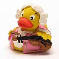 Rubber Duck Mozart in Pink -  ゴム製のアヒル