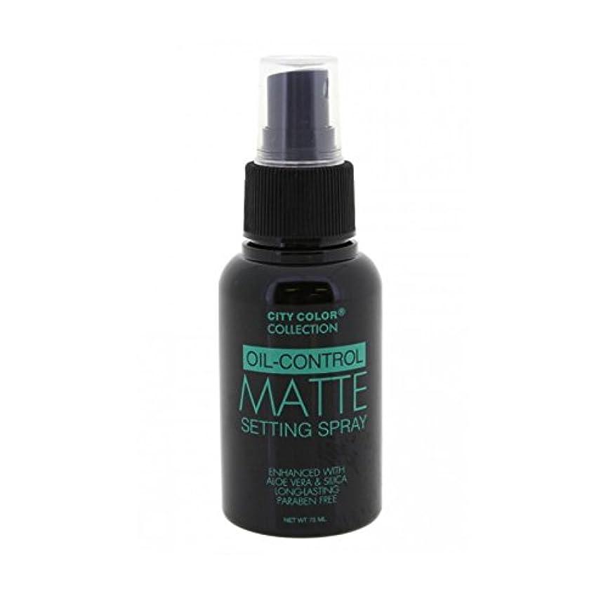 パントリー資産リップ(3 Pack) CITY COLOR Oil-Control Matte Setting Spray (並行輸入品)