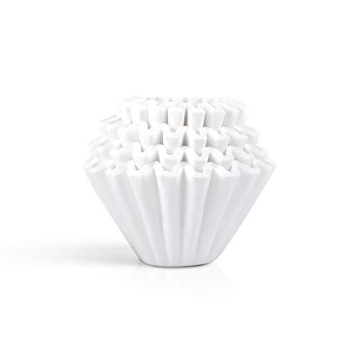 カリタ コーヒーフィルター ウェーブシリーズ 2~4人用 100枚入り ホワイト KWF-185 #22212