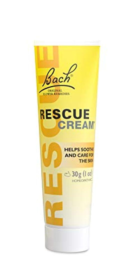疼痛ペック残酷Bach Rescue Remedy Cream 30 gm (並行輸入品)