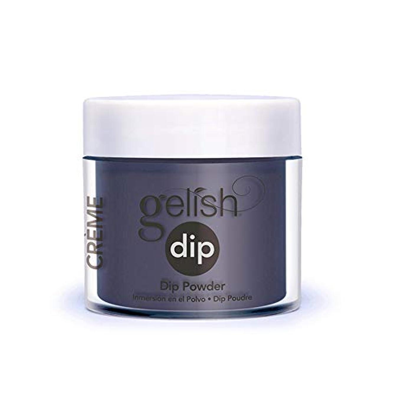幸運なタクト悪いHarmony Gelish - Acrylic Dip Powder - Denim Du Jour - 23g / 0.8oz