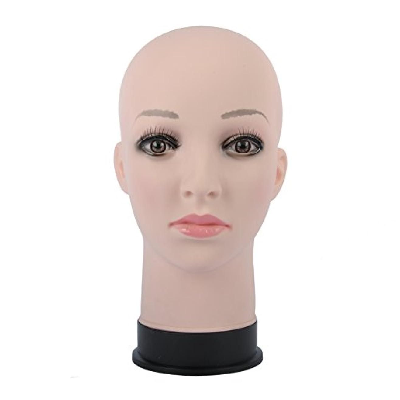 現金電気技師パズルマネキン 頭部 女性 ヘッド マネキンヘッド カット練習 マッサージ練習 トルソー ウィッグスタンド 帽子スタンド 繰り返し利用