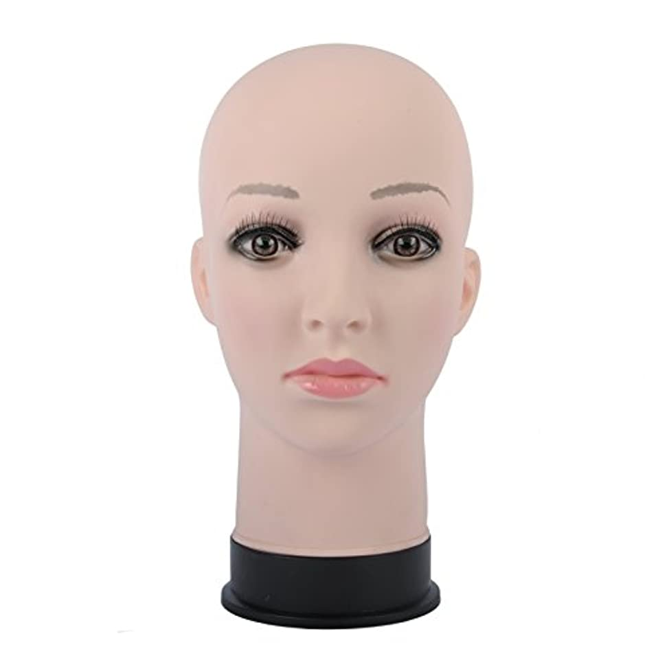 富ライター外交官マネキン 頭部 女性 ヘッド マネキンヘッド カット練習 マッサージ練習 トルソー ウィッグスタンド 帽子スタンド 繰り返し利用