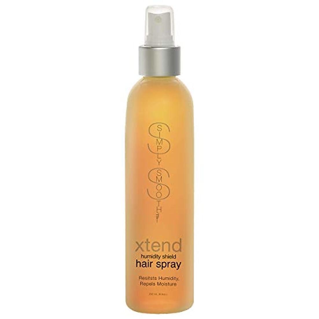 障害椅子在庫Simply Smooth Xtend Humidity Shield Hairspray(Non-Aero) 8 oz. (並行輸入品)