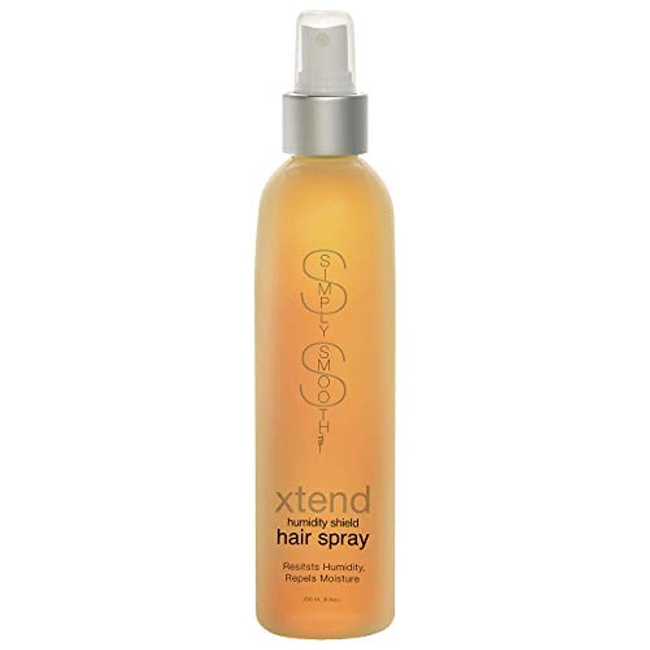家族広々失効Simply Smooth Xtend Humidity Shield Hairspray(Non-Aero) 8 oz. (並行輸入品)