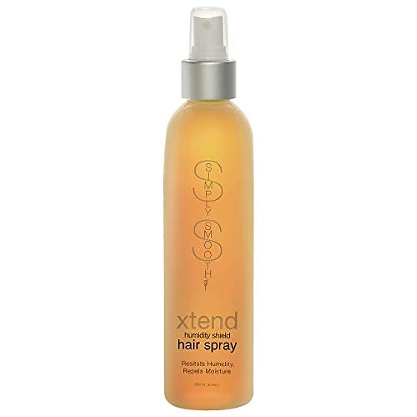 劇作家戦闘ライラックSimply Smooth Xtend Humidity Shield Hairspray(Non-Aero) 8 oz. (並行輸入品)