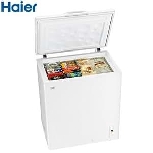 ハイアール 145L チェストタイプ 冷凍庫(フリーザー)直冷式 ホワイトHaier JF-NC145F(W)