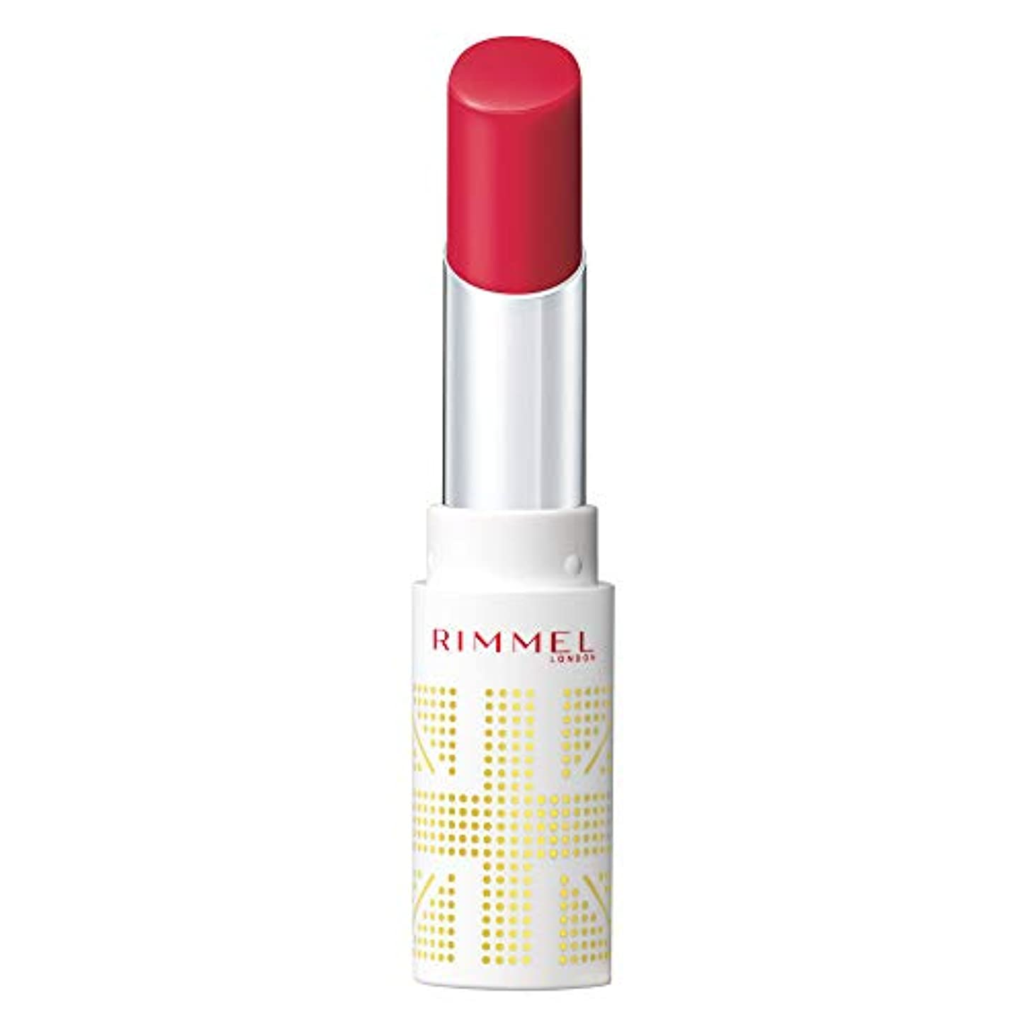 値下げ議会外出Rimmel (リンメル) リンメル ラスティングフィニッシュ オイルティントリップ 001 ベリーピンク 3.8g 口紅