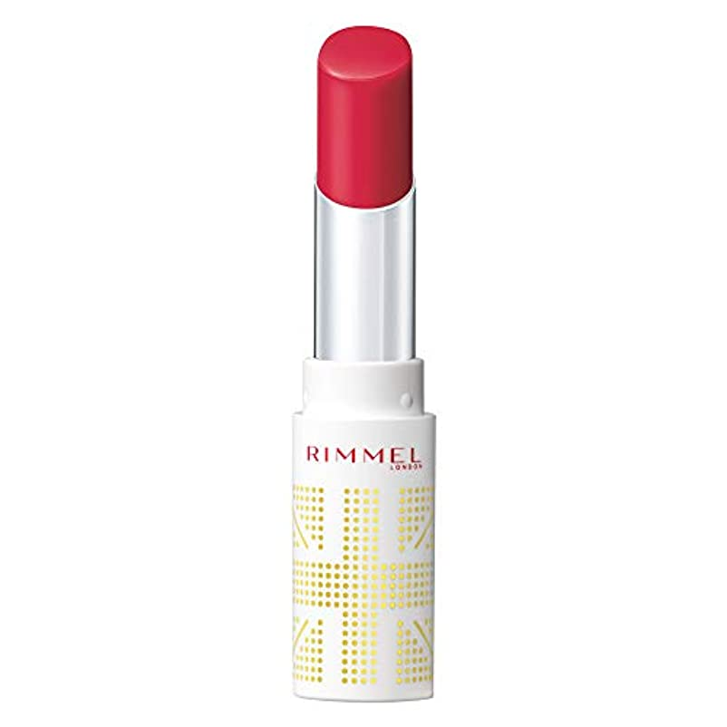 弱点直立公園Rimmel (リンメル) リンメル ラスティングフィニッシュ オイルティントリップ 001 ベリーピンク 3.8g 口紅