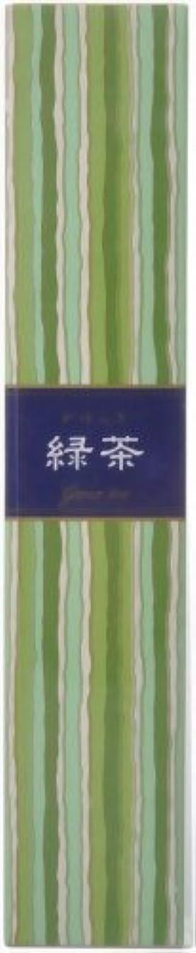 ミニ多くの危険がある状況指標かゆらぎ 緑茶 スティック40本入 香立付