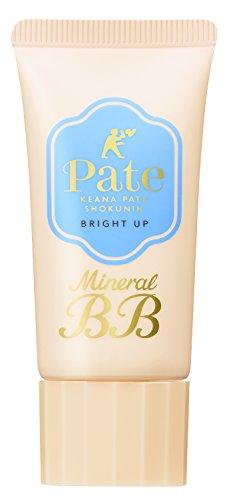 毛穴パテ職人ミネラルBBクリームブライトアップ明るい肌色30g