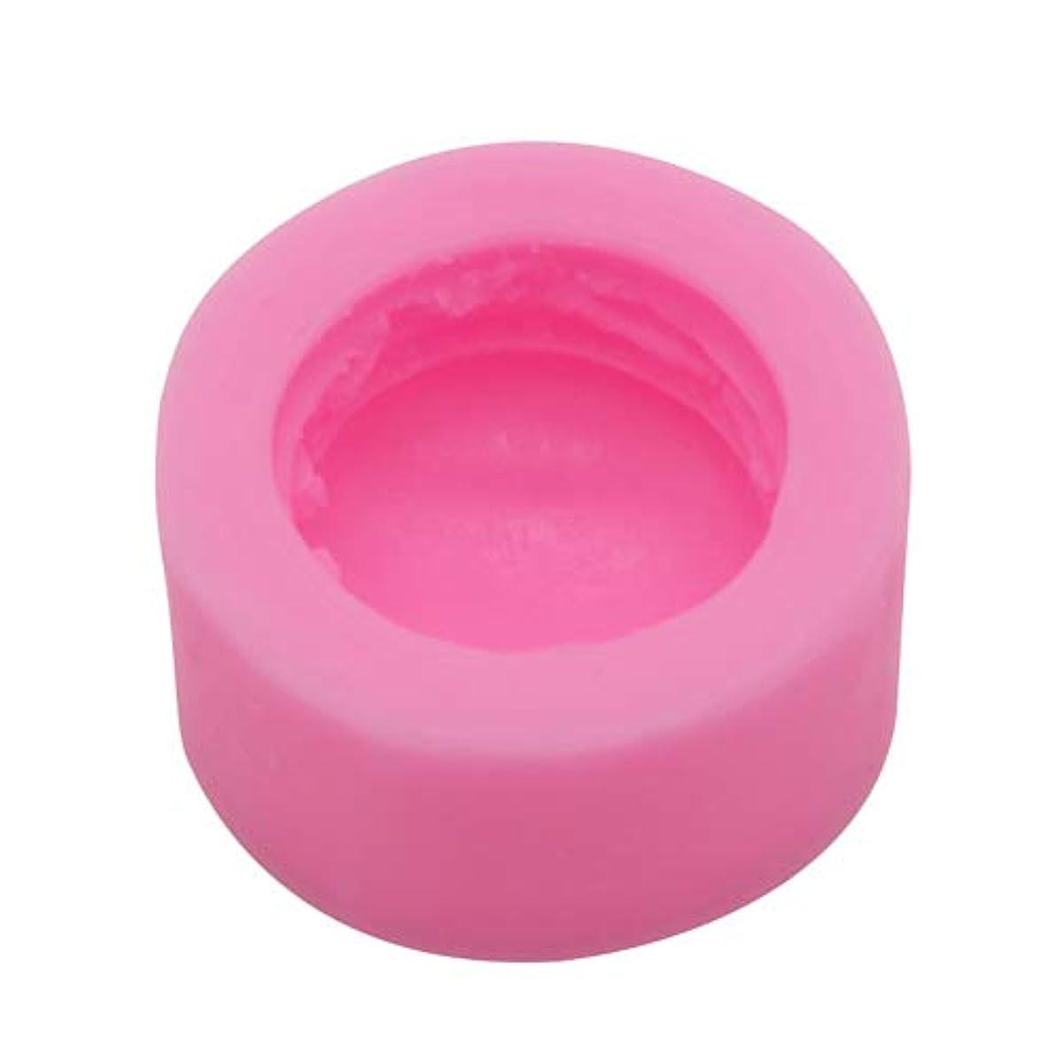 俳句病気の純粋なHealifty 3dピンクシリコーンマカロン石鹸金型ラウンドシリンダー型用手作り石鹸風呂爆弾チョコレートキャンドル