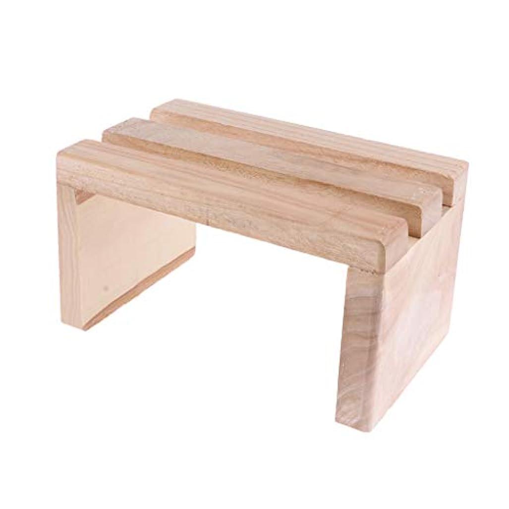 dailymall フットスツール 足浴槽用 足置き 木製 足浴桶 ペダル 足湯桶用 通気性 耐熱性 持ち運び 熱伝達