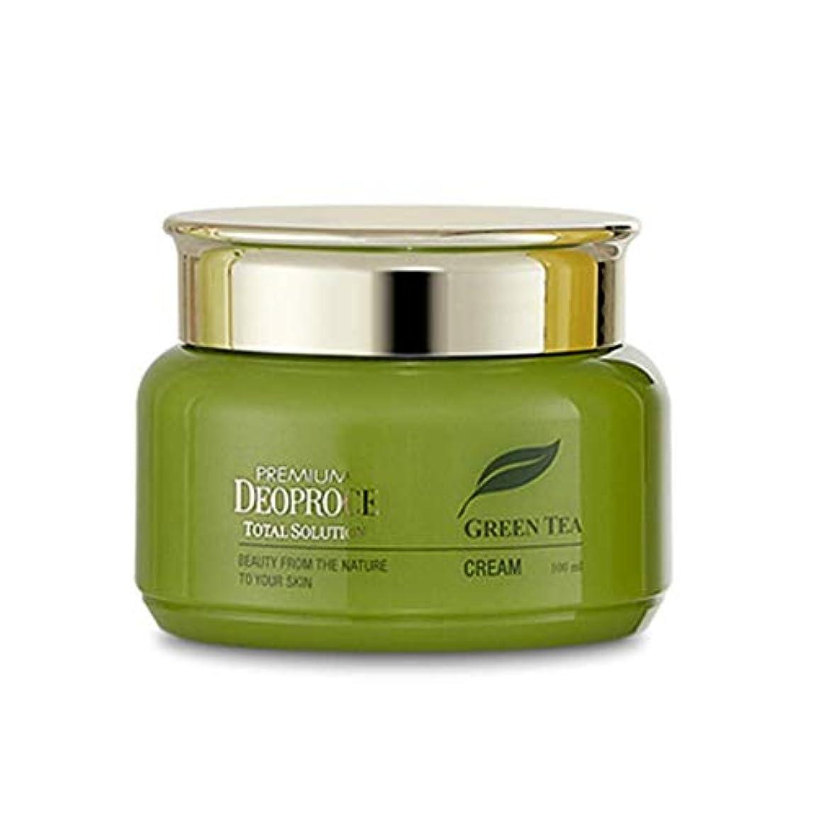 Deoproce 緑茶トータルソリューションクリーム [並行輸入品]