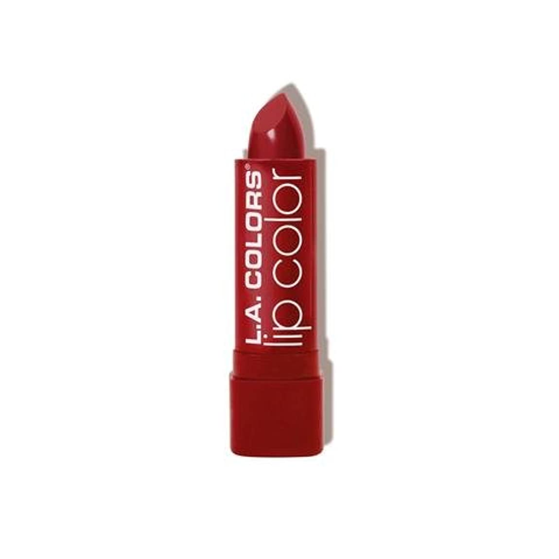 ジョージバーナード会議のヒープ(3 Pack) L.A. COLORS Moisture Rich Lip Color - Berry Red (並行輸入品)