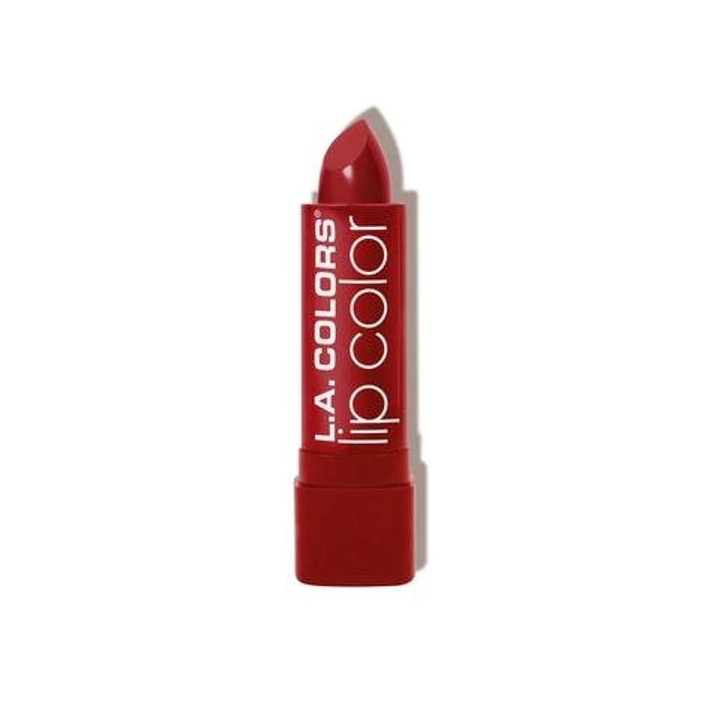 通行人背景非公式L.A. COLORS Moisture Rich Lip Color - Berry Red (並行輸入品)