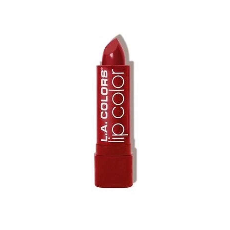 見る人属性来て(3 Pack) L.A. COLORS Moisture Rich Lip Color - Berry Red (並行輸入品)
