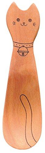 カワイ 木のスプーン ネコのおやつスプーン 079790