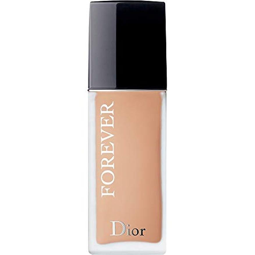 パーツコンサルタント貧困[Dior ] ディオール永遠皮膚思いやりの基礎Spf35 30ミリリットルの3C - クール(つや消し) - DIOR Forever Skin-Caring Foundation SPF35 30ml 3C - Cool...
