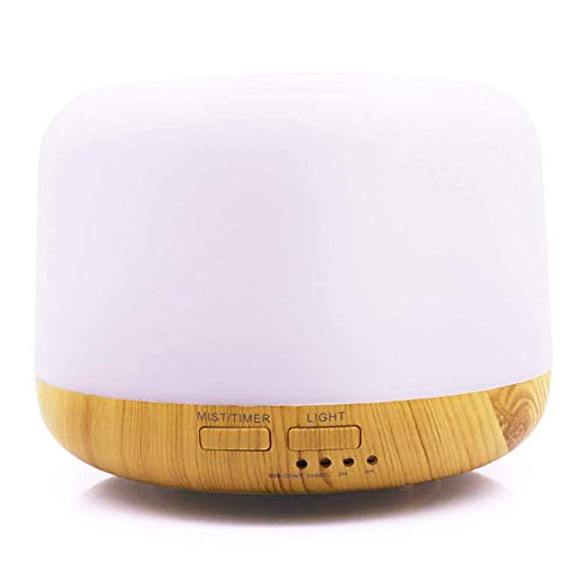 審判有限目を覚ます超音波カラフルなライトアロマテラピーマシンLED照明パンの加湿器ホームオフィスの美しさ,Natural