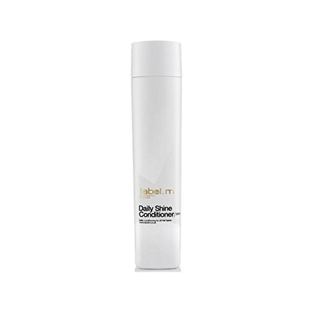 可決ライフル注ぎますLabel.M Daily Shine Conditioner (300ml) (Pack of 6) - .毎日シャインコンディショナー(300ミリリットル) x6 [並行輸入品]