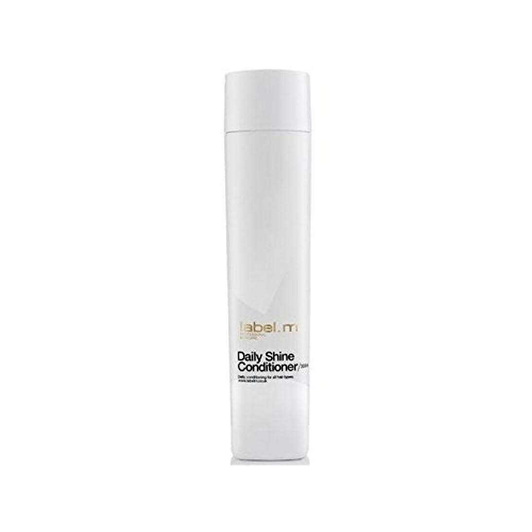 人形資料チラチラするLabel.M Daily Shine Conditioner (300ml) (Pack of 6) - .毎日シャインコンディショナー(300ミリリットル) x6 [並行輸入品]