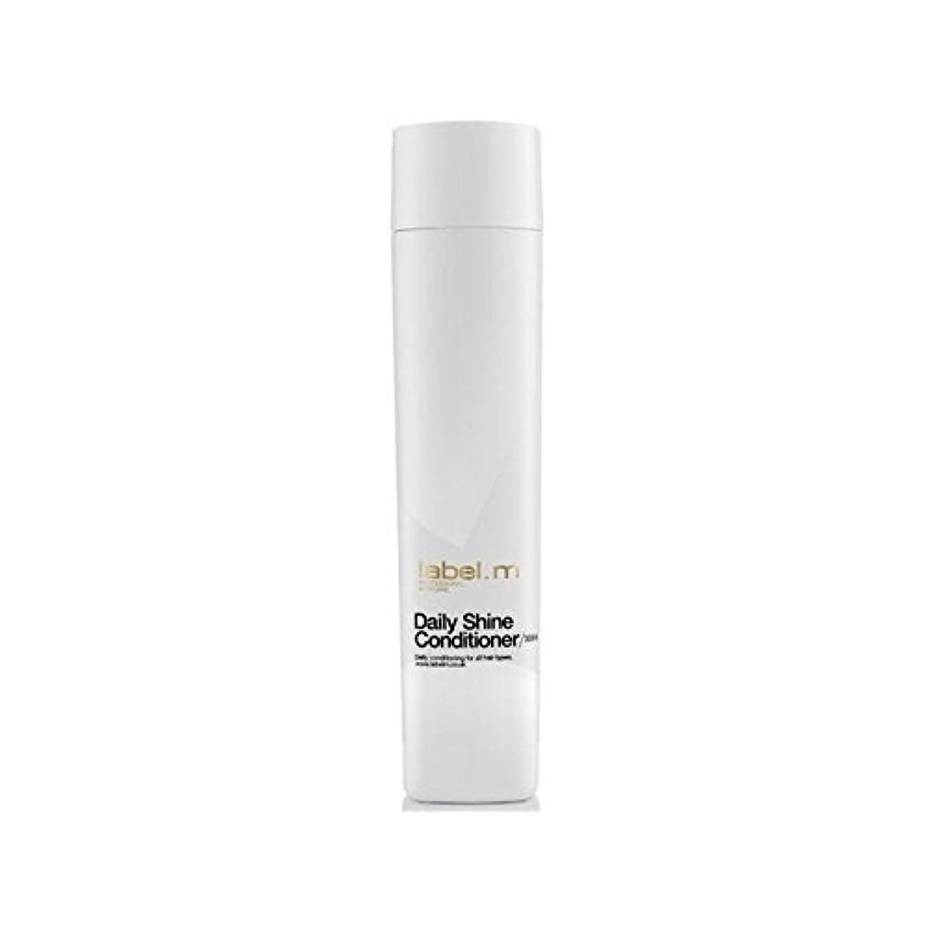 山岳赤ちゃん構造的Label.M Daily Shine Conditioner (300ml) - .毎日シャインコンディショナー(300ミリリットル) [並行輸入品]