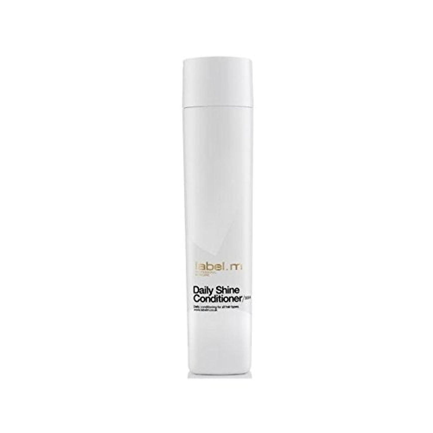 高度間接的褐色Label.M Daily Shine Conditioner (300ml) - .毎日シャインコンディショナー(300ミリリットル) [並行輸入品]