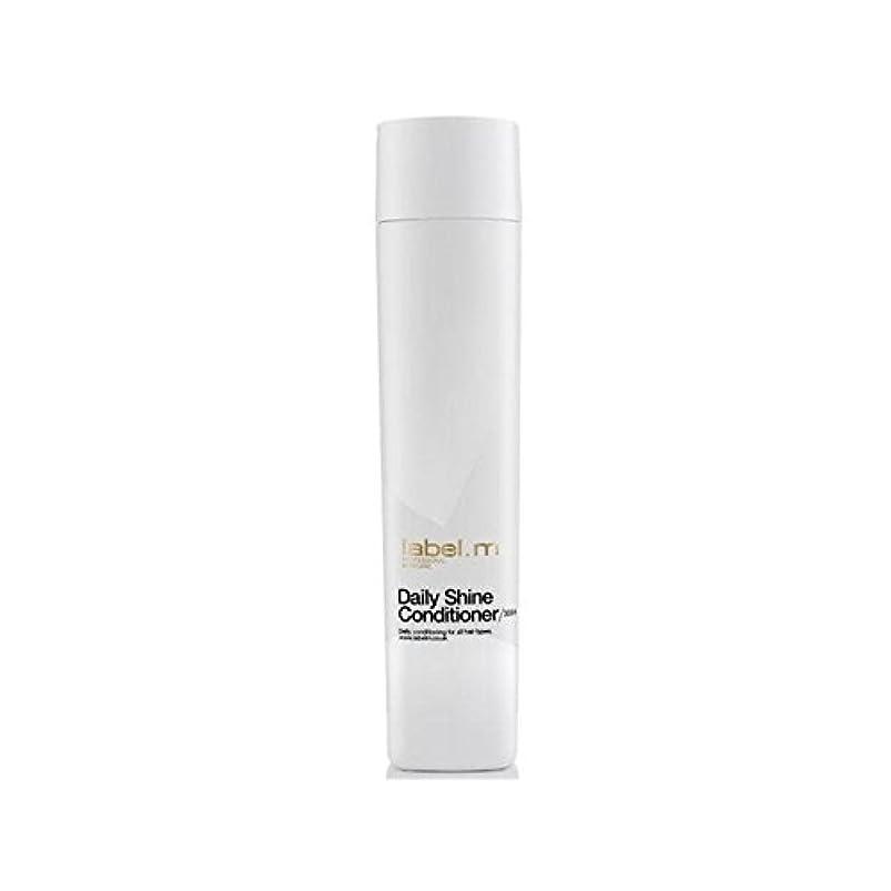 シェード現象エレベーターLabel.M Daily Shine Conditioner (300ml) (Pack of 6) - .毎日シャインコンディショナー(300ミリリットル) x6 [並行輸入品]