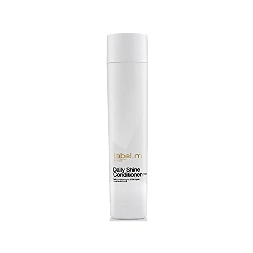 液化する家主理解するLabel.M Daily Shine Conditioner (300ml) (Pack of 6) - .毎日シャインコンディショナー(300ミリリットル) x6 [並行輸入品]