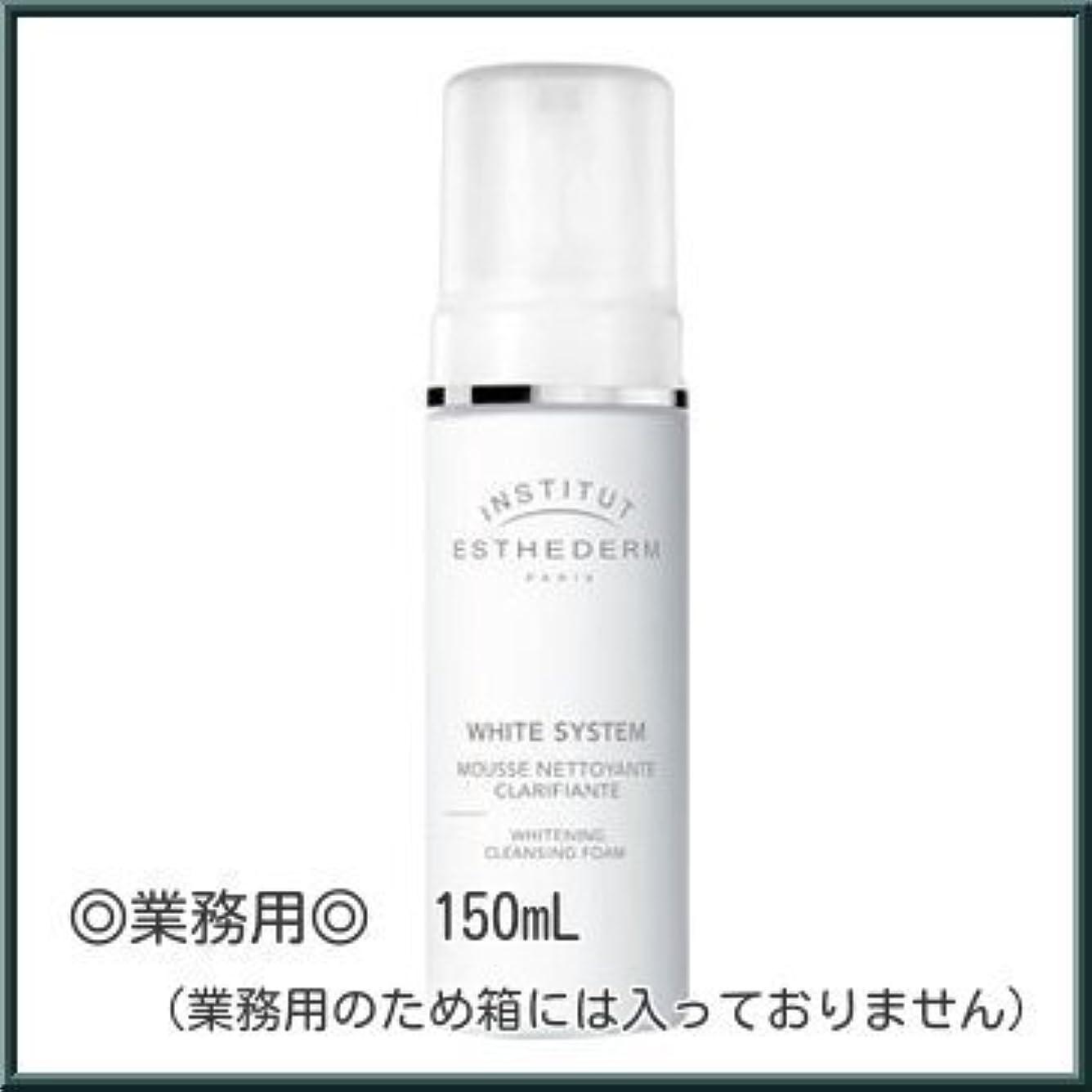 灰フィッティングスリンク【業務用】エステダム ホワイト クレンジング ムース 150ml