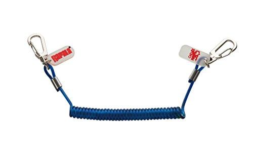 ラパラ(Rapala) ワイヤーリーシュコード 自然長/約25cm 最大伸長/約70cm ブルー WIRE LEASH CODE WLCS-BL