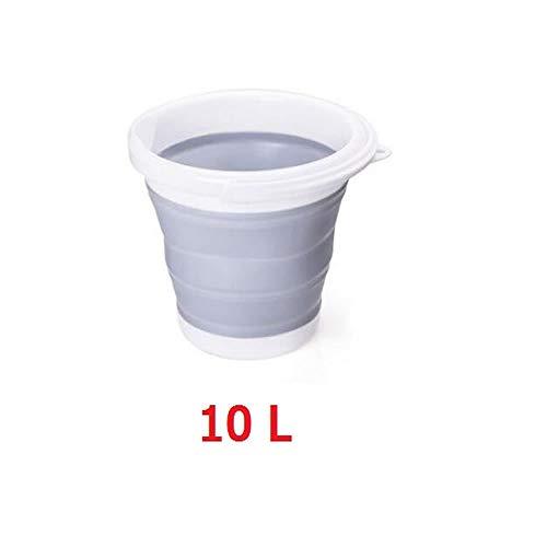 MR 折りたたみ ソフトバケツ おりたたみ アウトドア 旅行 洗車 洗い桶 雑貨 掃除 10L BAKETOOL-10