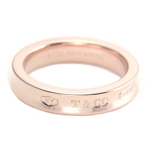 [ティファニー] TIFFANY RUBEDO ルベド メタル ローズピンク 1837 ナローリング 指輪 【並行輸入品】 30637674 日本サイズ11号 (USサイズ6号)