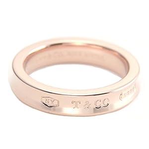 [ティファニー] TIFFANY RUBEDO ルベド メタル ローズピンク 1837 ナローリング 指輪 【並行輸入品】