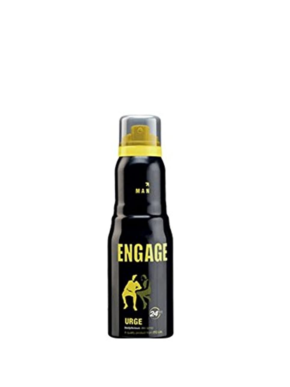 ハードトン必要ないEngage Urge Deodorant For Men, 150ml / 165ml (Weight May Vary)