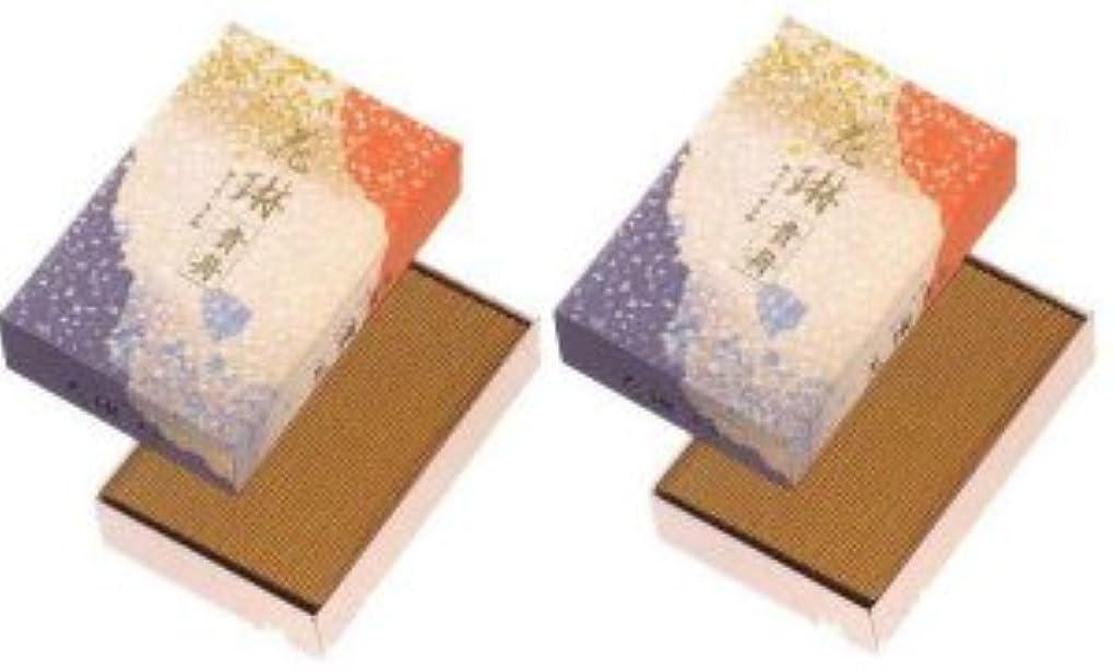 ショッピングセンターサスペンションなめらかな薫寿堂 花琳貴舟 大バラ 2箱セット