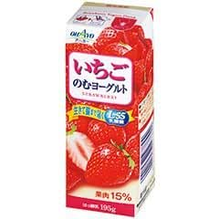 オハヨー乳業 冷蔵 6本 いちごのむヨーグルト 190g
