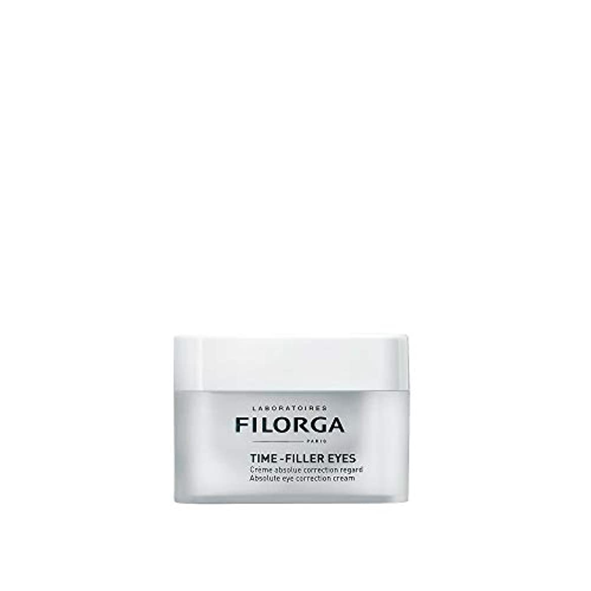 代表団スクリュー矩形Filorga Time-Filler Eyes Crema Absoluta Corrección Contorno De Ojos 15Ml