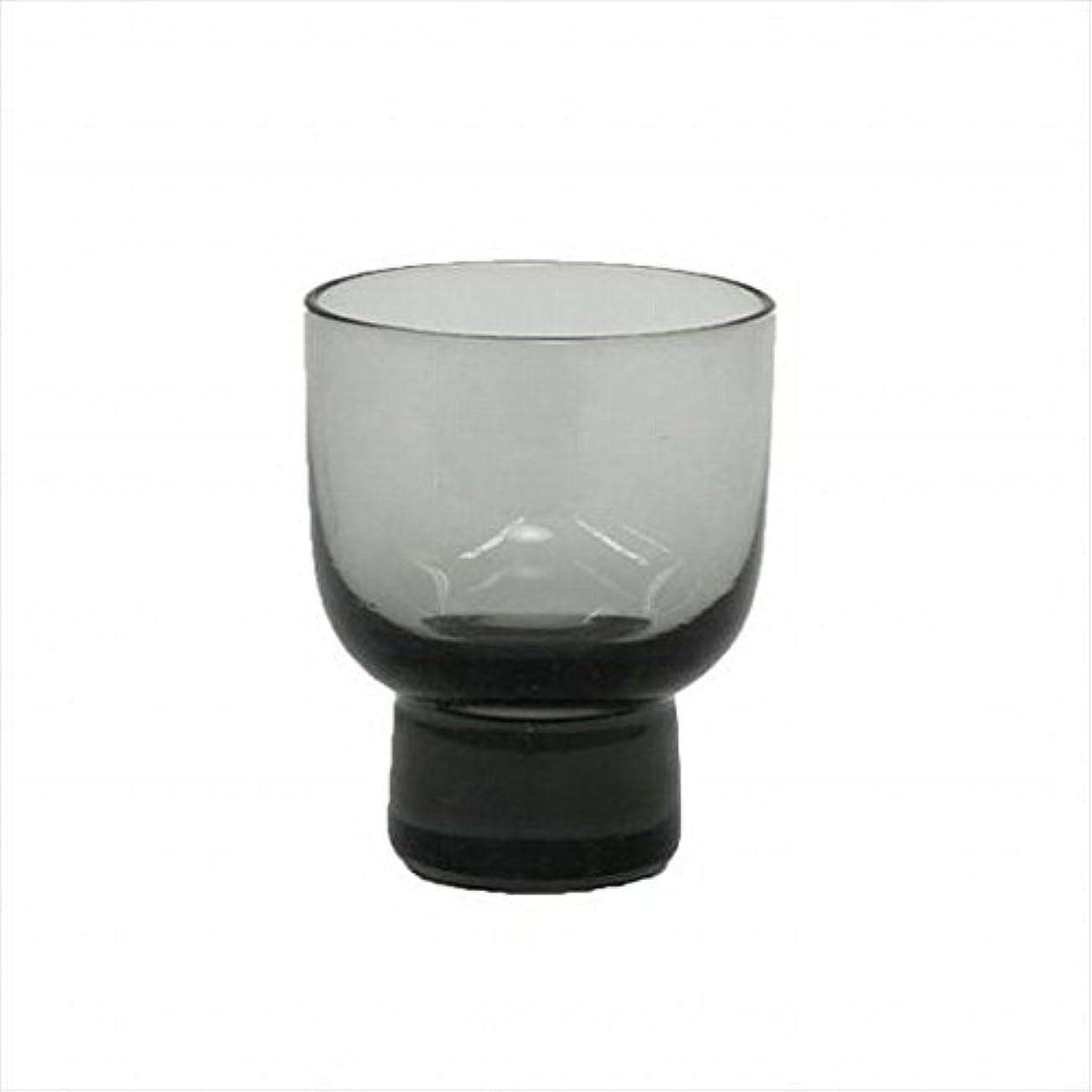 繁雑藤色スキッパーkameyama candle(カメヤマキャンドル) ロキカップ 「 スモーク 」 キャンドル 58x58x70mm (I8236100SM)