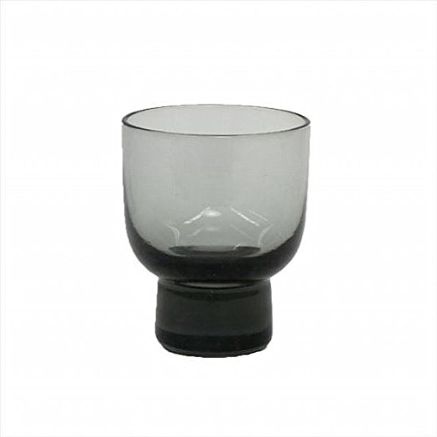 識別論理的鋸歯状kameyama candle(カメヤマキャンドル) ロキカップ 「 スモーク 」 キャンドル 58x58x70mm (I8236100SM)