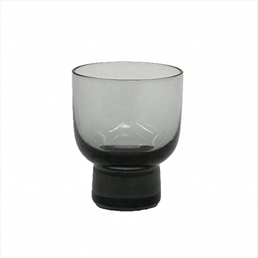 リアルシネマタッチkameyama candle(カメヤマキャンドル) ロキカップ 「 スモーク 」 キャンドル 58x58x70mm (I8236100SM)