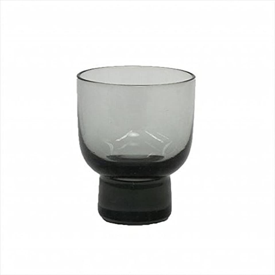 kameyama candle(カメヤマキャンドル) ロキカップ 「 スモーク 」 キャンドル 58x58x70mm (I8236100SM)