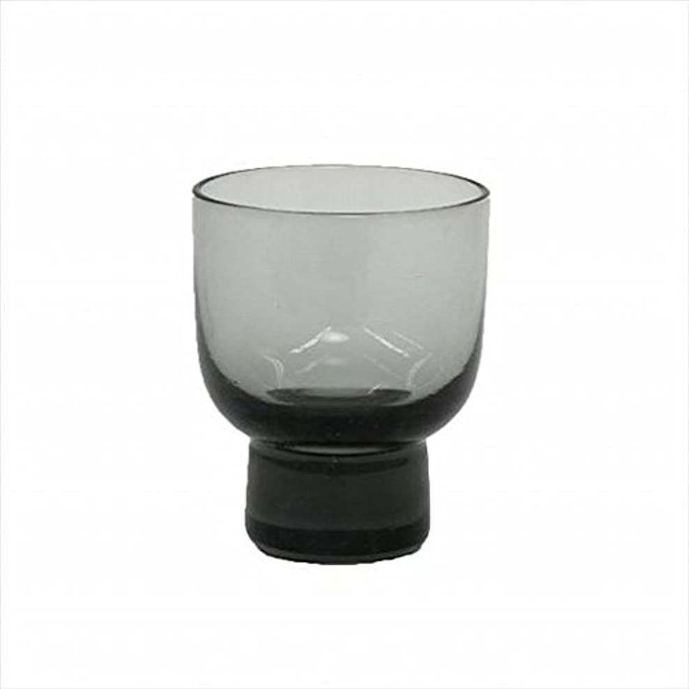 宣教師焦げ支配するkameyama candle(カメヤマキャンドル) ロキカップ 「 スモーク 」 キャンドル 58x58x70mm (I8236100SM)