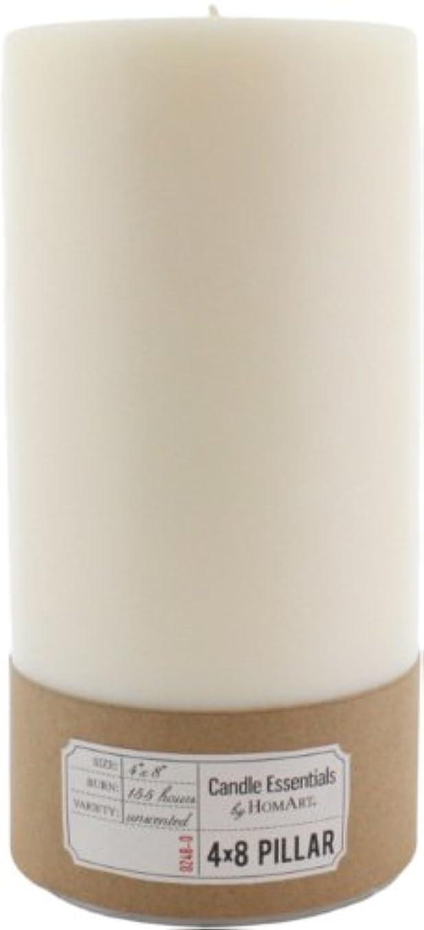 普通のベーリング海峡恐ろしいHomArtピラー4 x 8 (アイボリー) 4-Inch by 8-Inch 0248-0