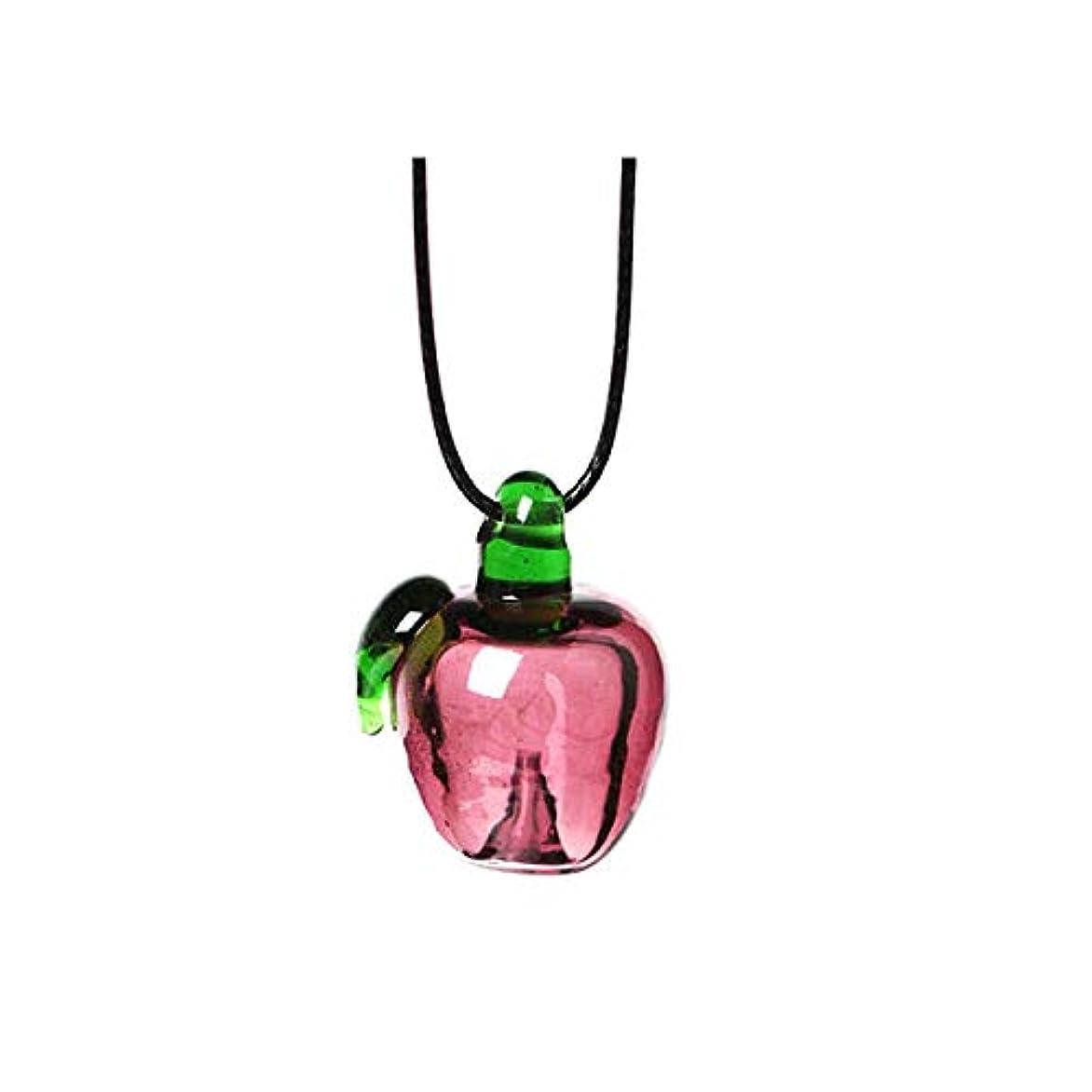 避けるに同意するあらゆる種類のアロマ ペンダント りんご 専用スポイト付 アロマテラピー アロマグッズ ネックレス 香水 香 かおり 種類,りんご【E】