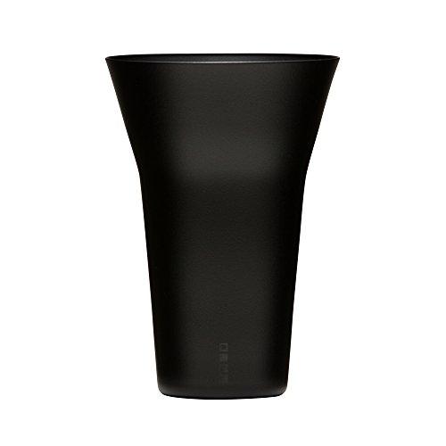 生涯を添い遂げるグラス タンブラー240 うす吹き ブラックマット